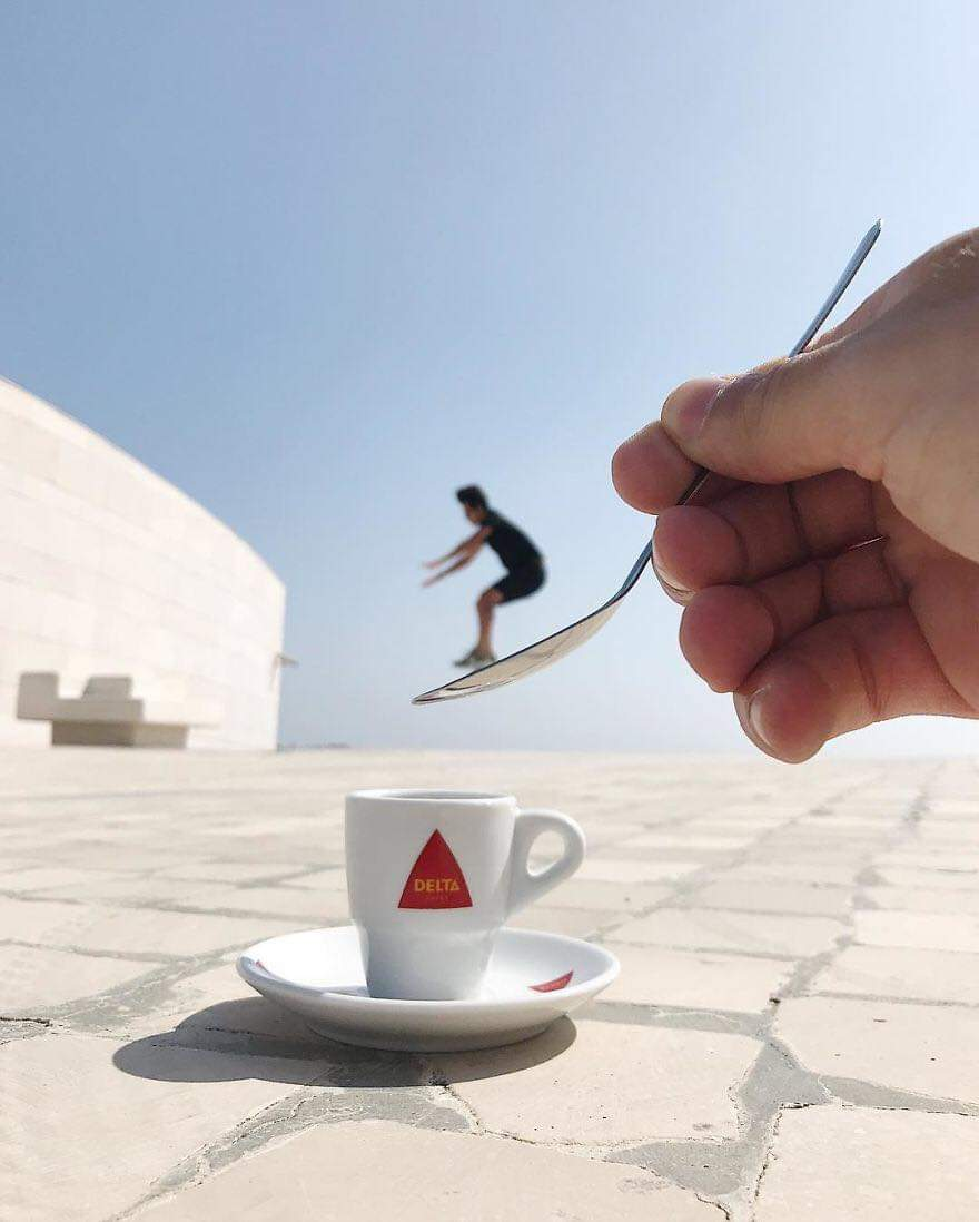 Optical Illusions That Were Made Without Any Editing Software By Tiago Silva (30 Pics)