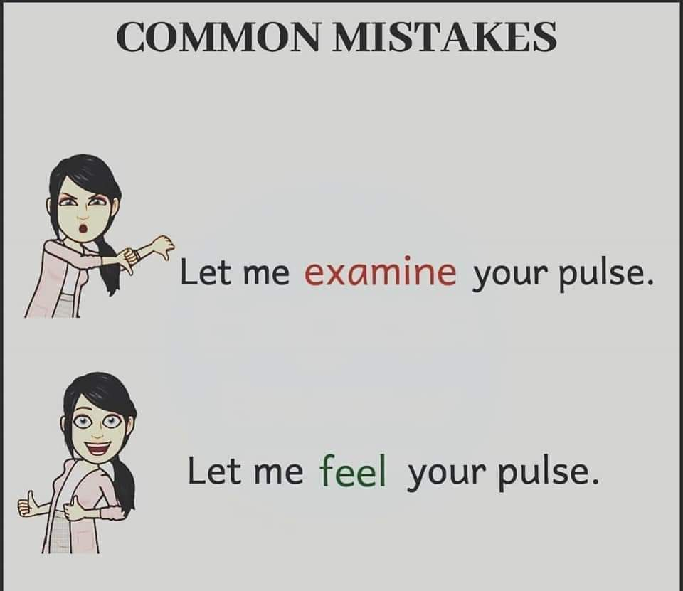 Some common mistakes that you must avoid! (10 Pics) | English Lessons
