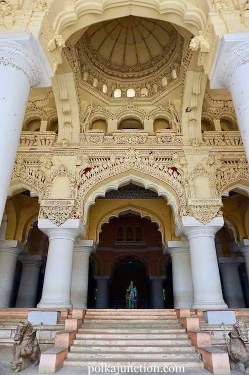 Thirumalai Nayakar Mahal Madurai, Tamil Nadu, India