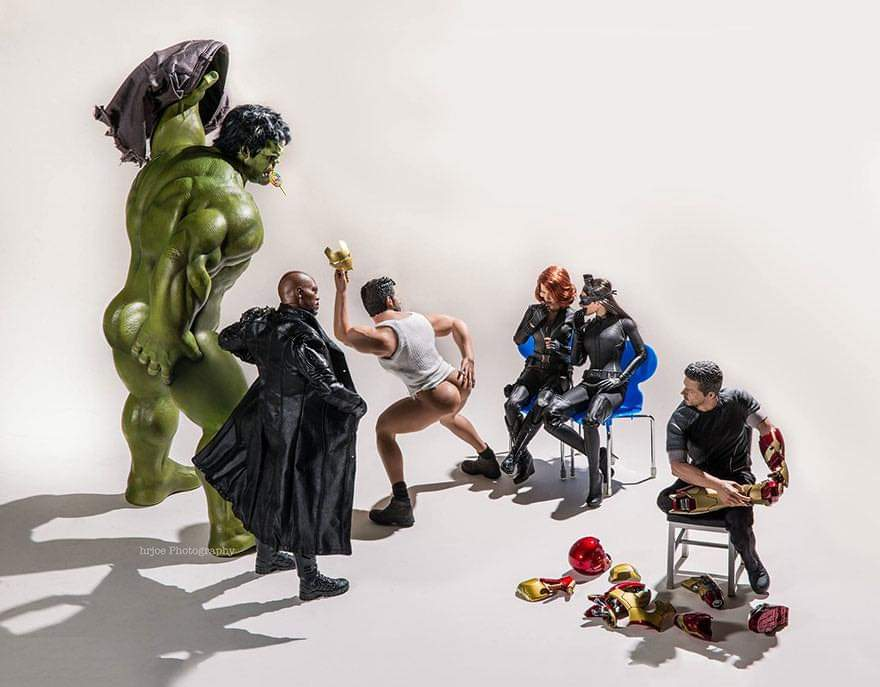 The Secret Life Of Superhero Toys By Edy Hardjo (20 Pics)