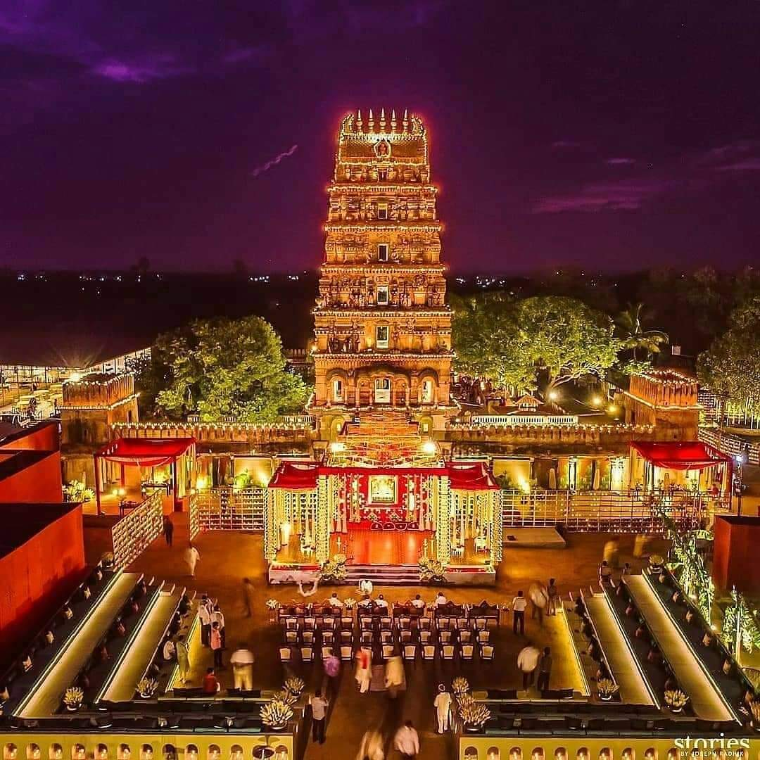 Sri Rama Chandra Temple, Ammapalli, Telangana, India