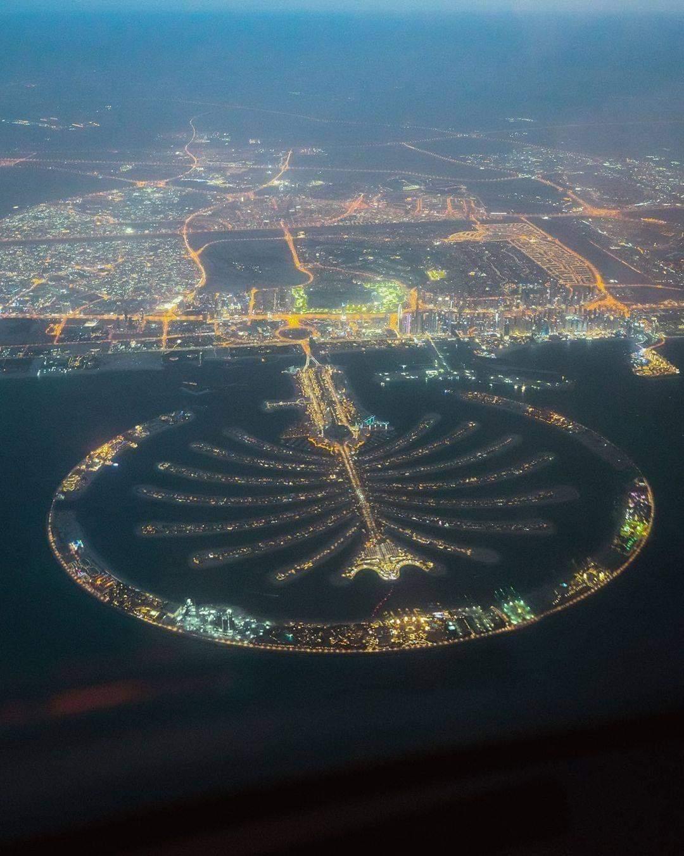 1Pic - Most Beautiful Aerial View Of Dubai