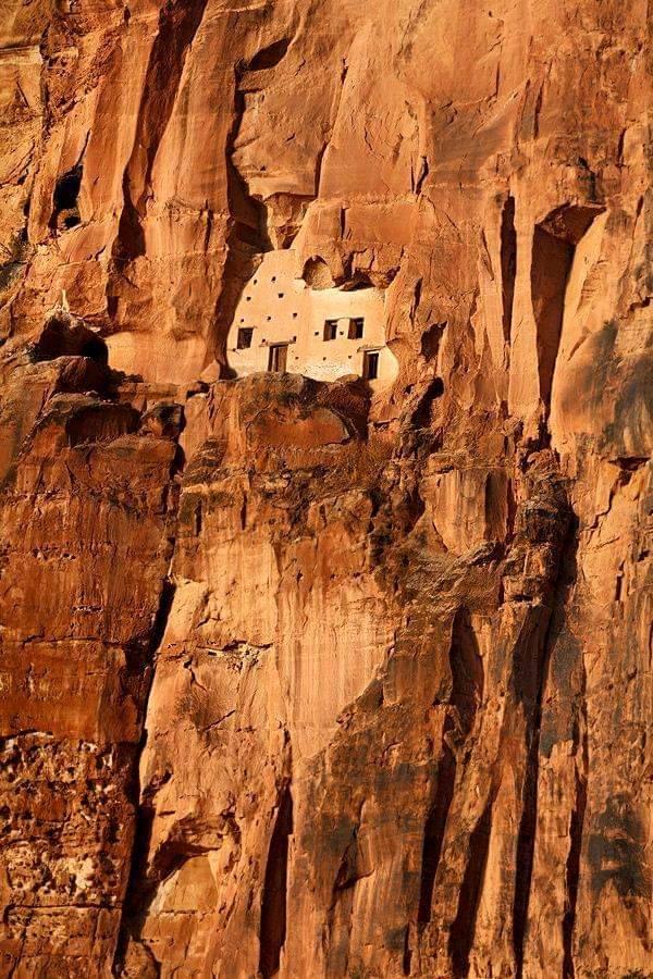 Abuna Yemata monolitic Church at a height of 2,580 Metres, 5th Century Ethiopia