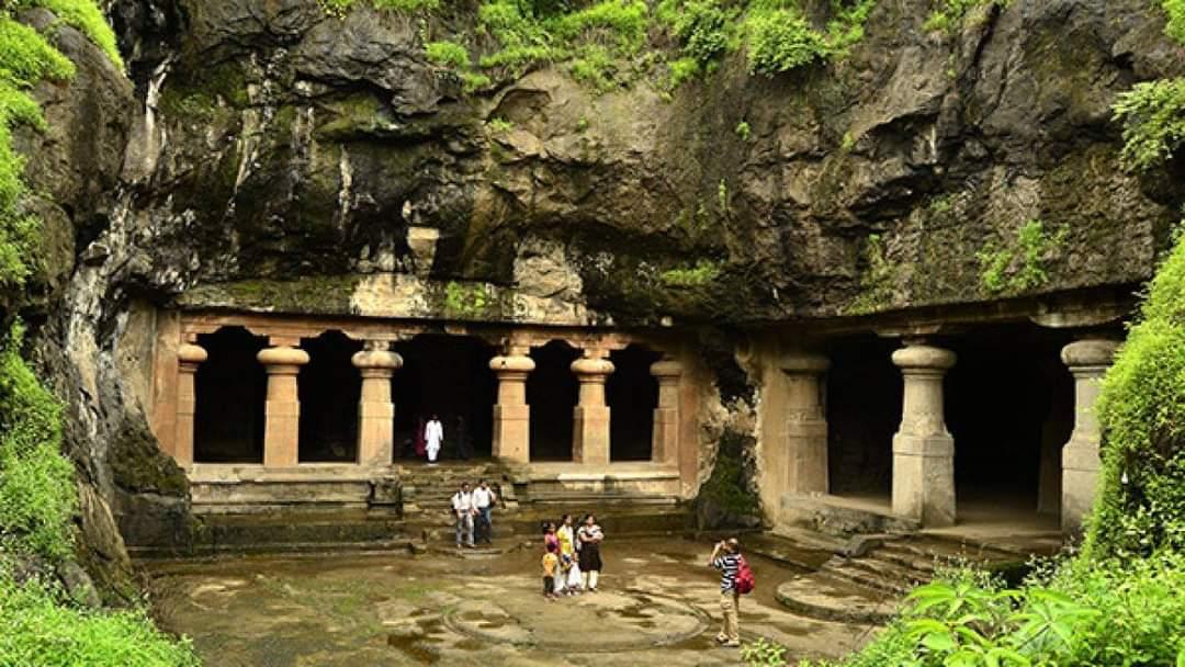 Amazing Elephanta Caves, Mumbai, India
