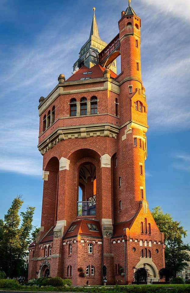 1Pic - WATER TOWER, Wroclaw, Poland