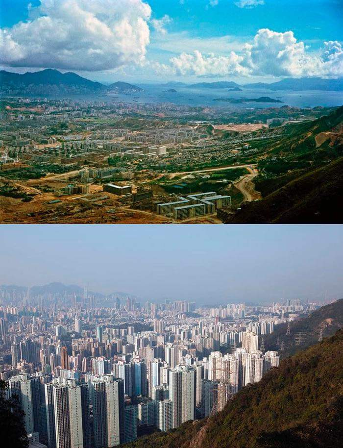 1Pic - Hong Kong in 1967 and Now