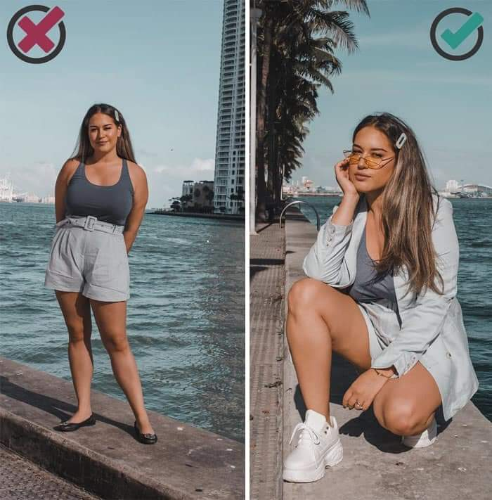 Photography Major Bonnie Rodríguez Krzywicki, Shares Easy Tips That Make Anyone Look Way Better In Photos (33 Pics)