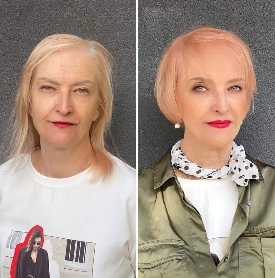 Lithuanian Hairstylist Jurgita Malakauskaitė, Shows How Much A Hair Transformation Can Change A Person (30 Pics)
