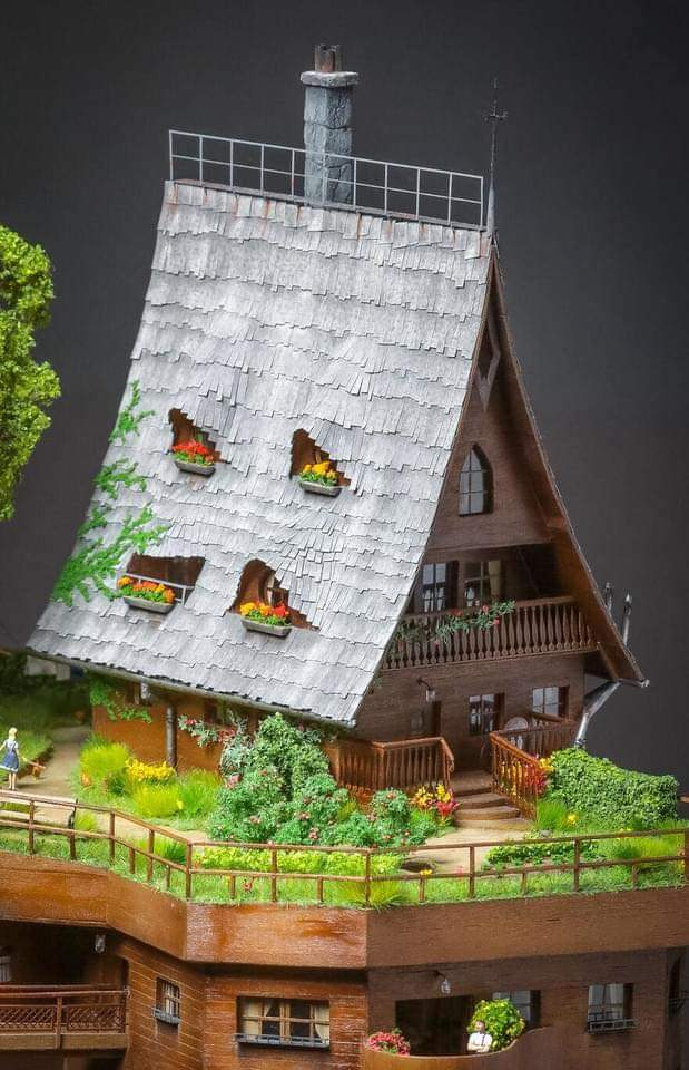 Photographer Ognyan Stefanov Created A Mini Village And It Took Him 2 Years To Finish