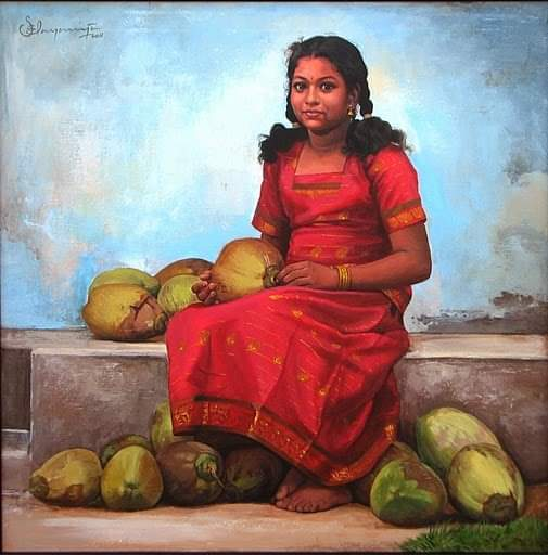 A Tribute To Ilayaraja - The King Of Most Amazing and Realistic Paintings