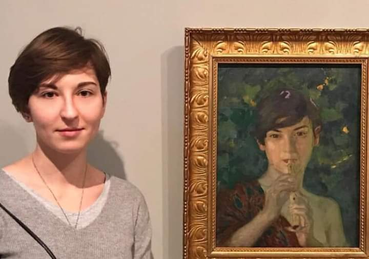 When you find yourself in art museum (17 Pics)