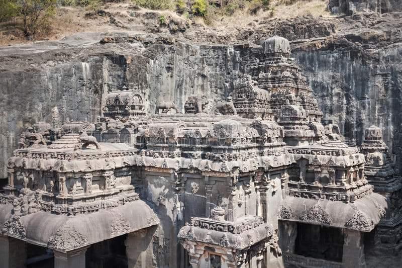 Kailasa Temple, Ellora Caves, Maharashtra, India