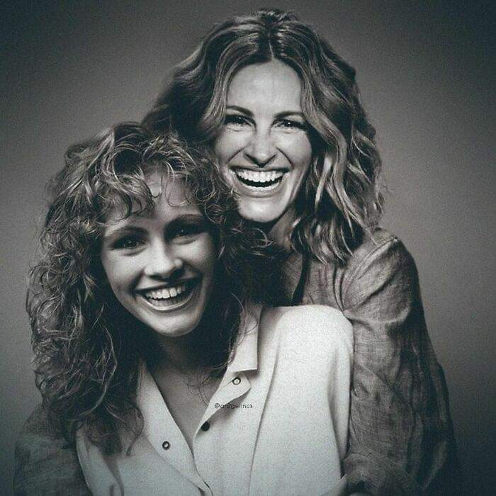 Celebrities Photoshopped Side-By-Side With Their Younger Selves By Ard Gelinck (30 Pics)