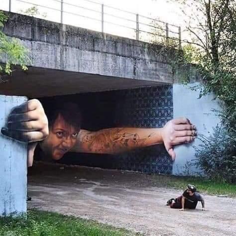 Amazing Street Art (10 Pics)
