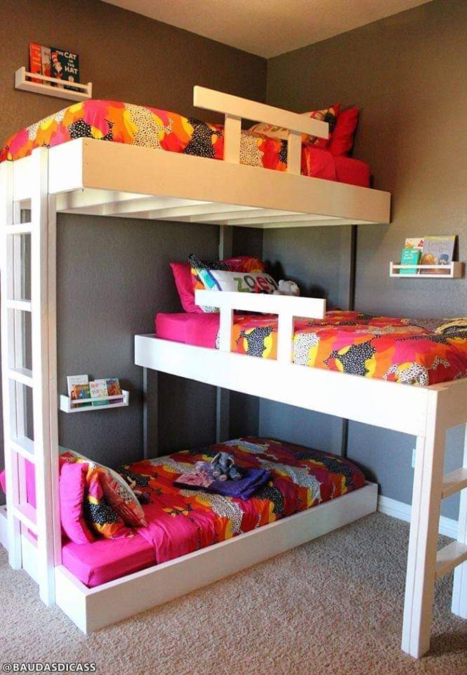 Tiny Home Ideas: Bunk Bed Ideas (12 Pics)
