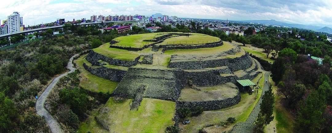 Cuicuilco Pyramid, Mexico City, Mexico