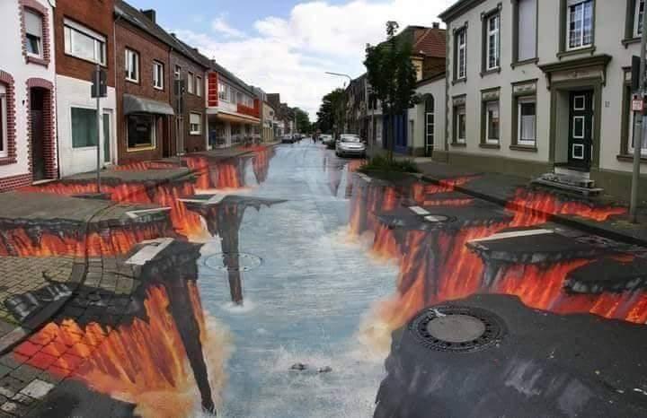 Amazing 3D Street Art (17 Pics)