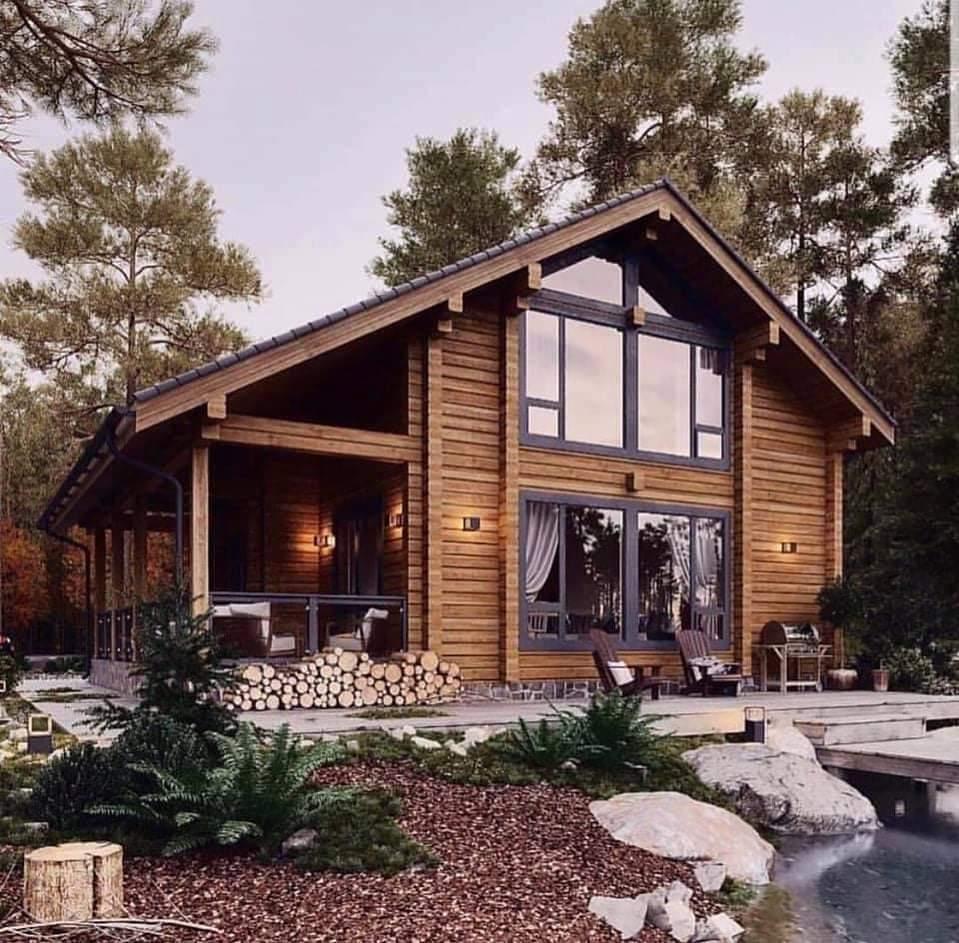 Best Of Log Cabin Homes (52 Pics)