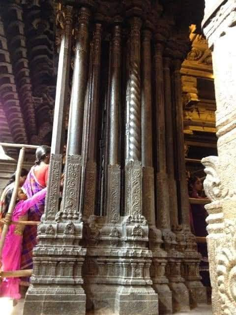 Unsolved mystery of The musical pillars