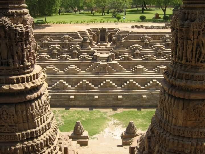 The SUN Temple in Modhera, Gujarat, India