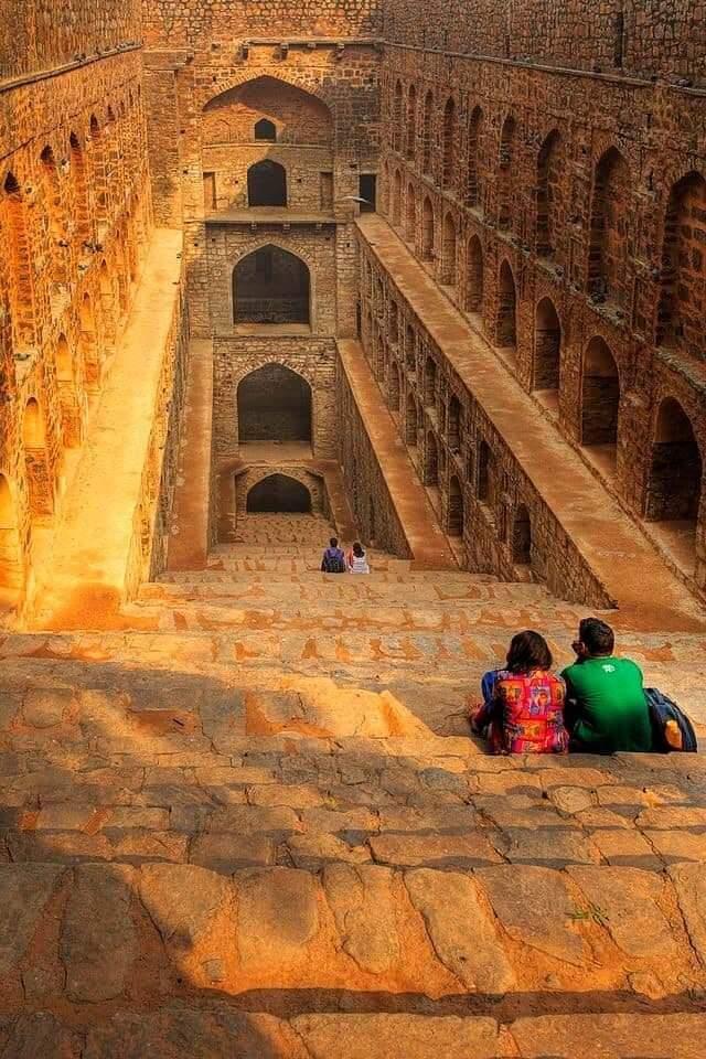 Stunning Agrasen ki Baoli (Step Well) On Hailey Road, Near Jantar Mantar in New Delhi, India