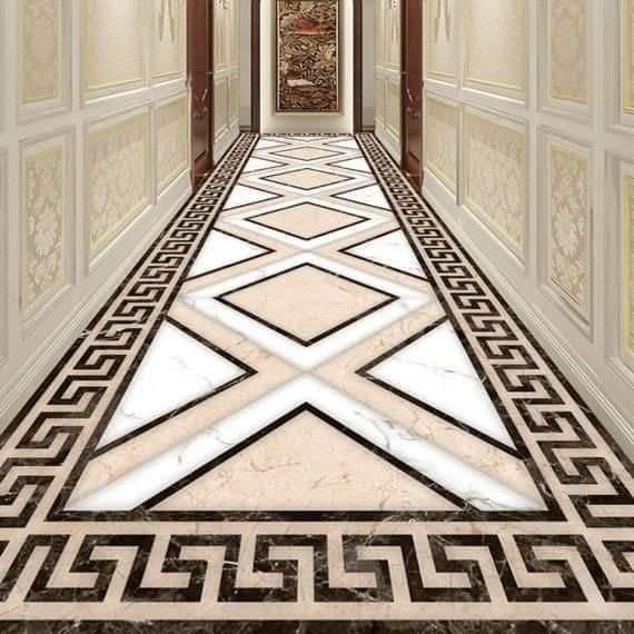 Marble flooring ideas (30 Pics)