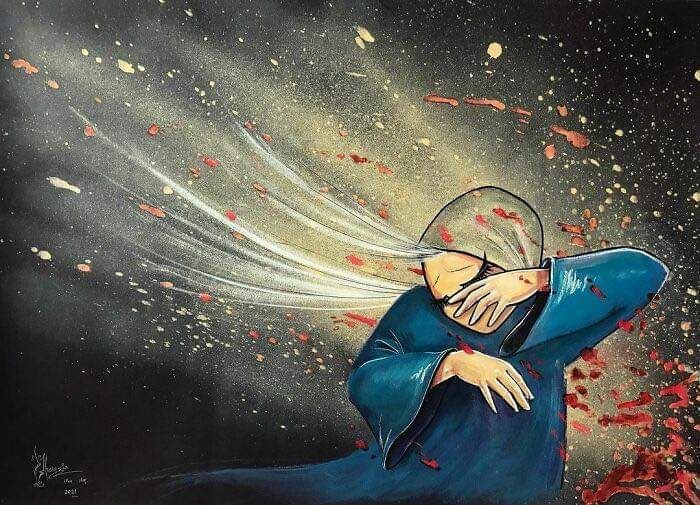 Heartbreaking Works By Shamsia Hassani, The First Female Afghan Street Artist