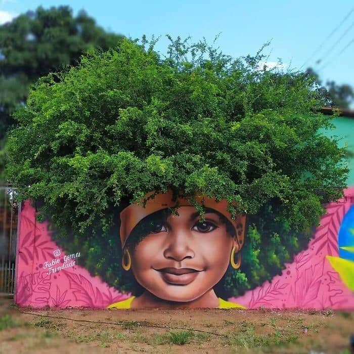 Stunning Street Art By Fábio Gomes Trindade