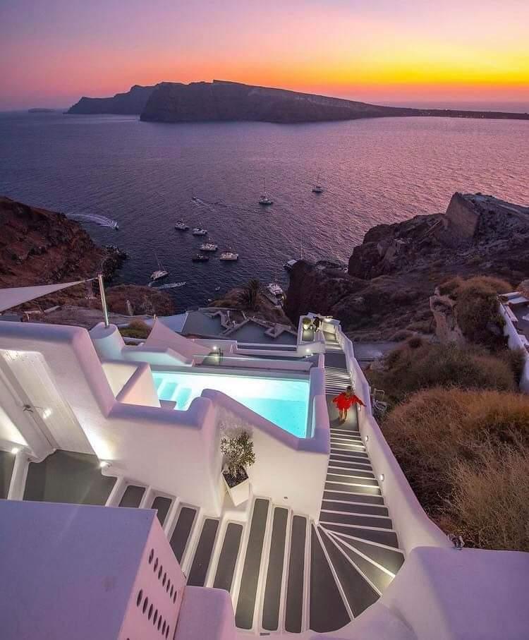 Most Beautiful Santorini, Greece