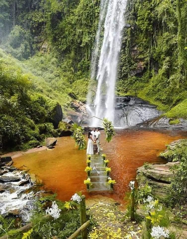 Waterfall Dream Wedding (5 Pics)