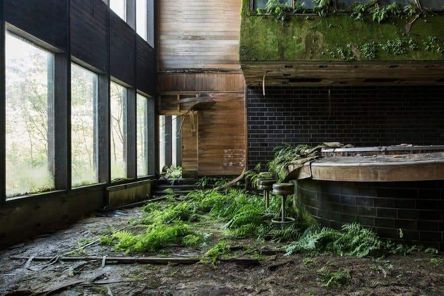 Nature Taking Back Abandoned Places By Jonk Photography