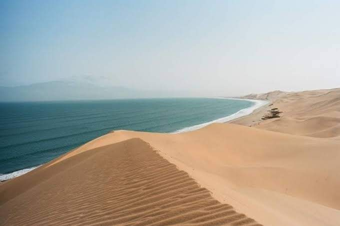 The Magical Desert That Meets The Ocean In Africa
