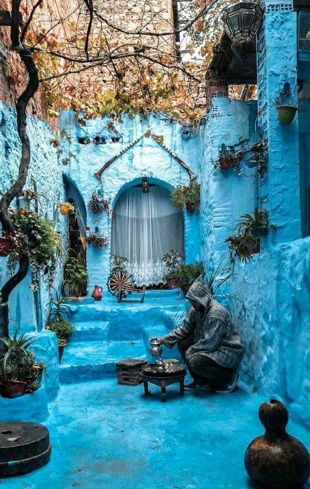 """Chefchaouen - """"The blue jewel"""" of the Kingdom of Morocco"""