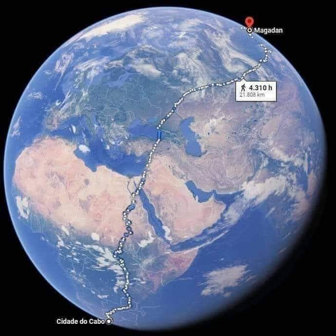 The Longest Way In The World!