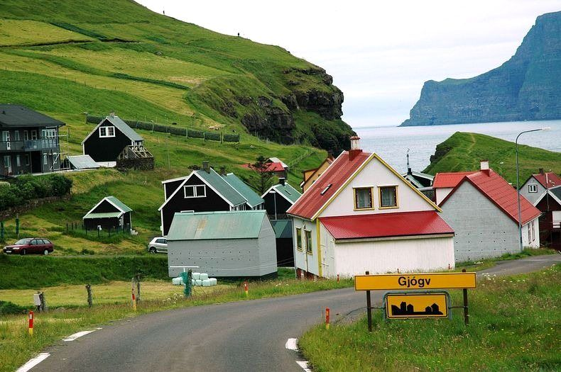 Most Beautiful, Colorful and Picturesque Villages of Faroe Islands