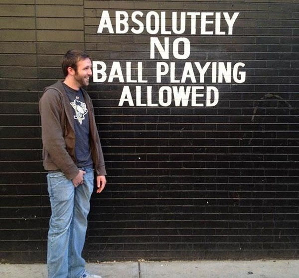25 Funny People Who Don't Respect the Rules