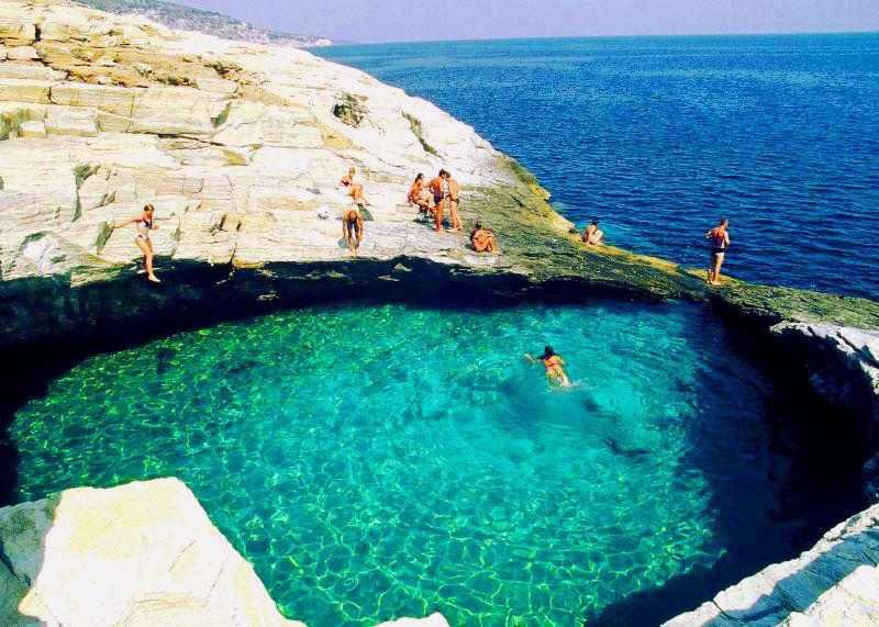 Top-5 Most Amazing Natural Swimming Pools Around the World