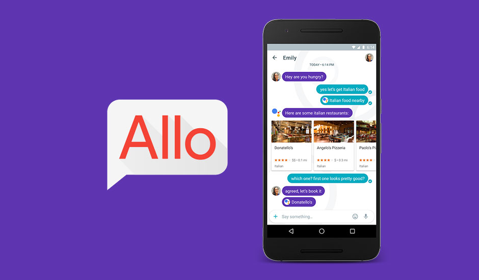 Google launches Allo ( AI-integrated chat app) - a smarter messaging app