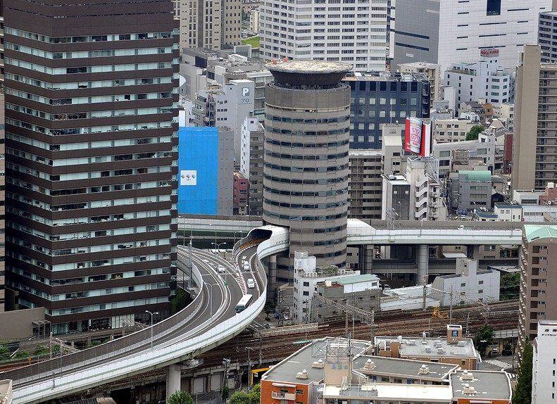 Stunning Hanshin Expressway in Japan