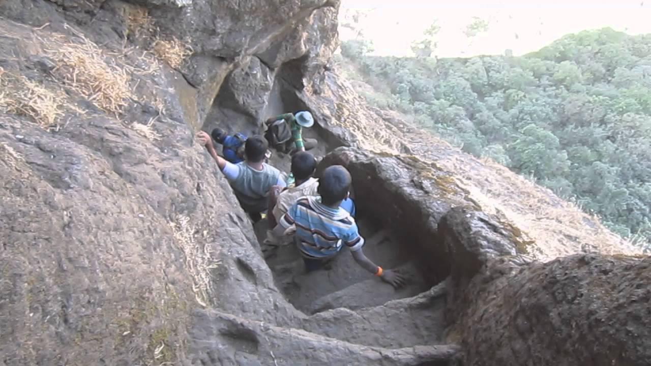 Most Amazing Harihar Fort Trek, Nashik, Maharashtra, India