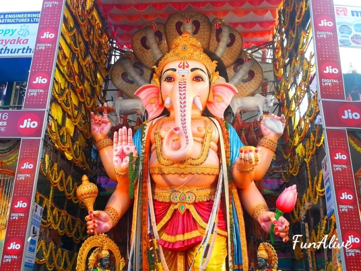 Khairatabad Ganesh Idol - Ganesh Chaturthi in Hyderabad