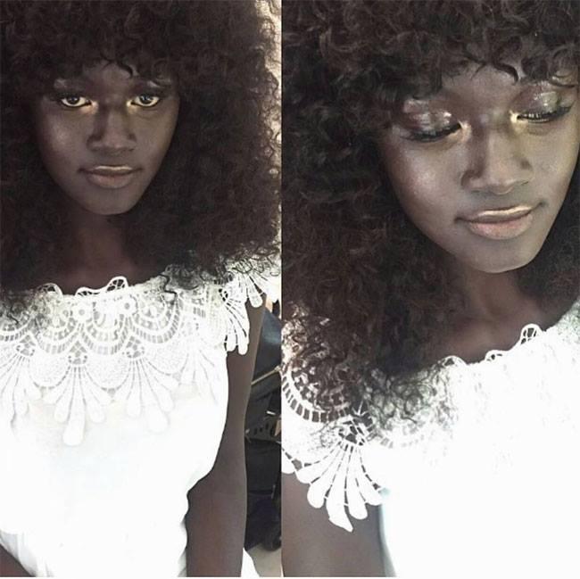 Meet Khoudia Diop, Stunning Charcoal African Model