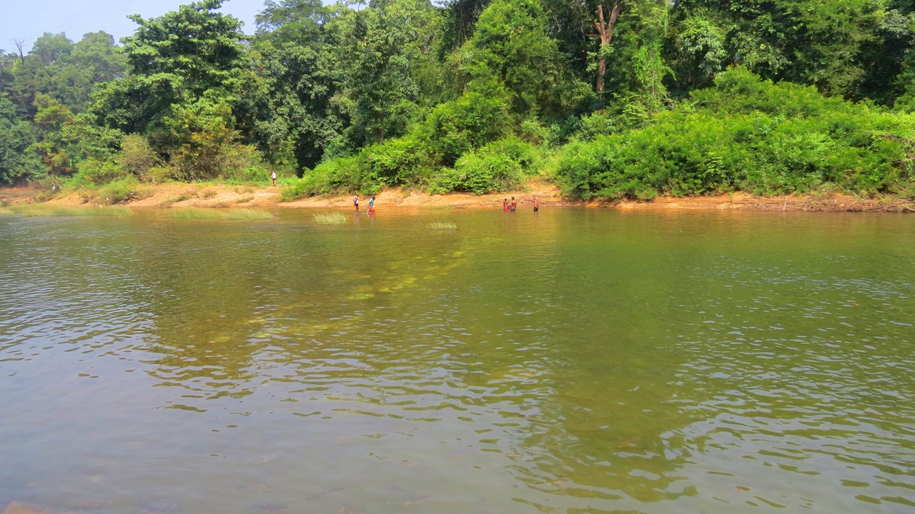 Kumaradhara River At Kukke Subramanya Temple - Sacred River in the Indian State of Karnataka