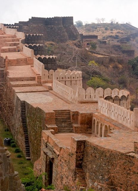 The Great Wall of India - Kumbhalgarh Fort