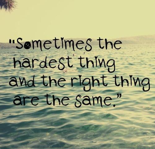 Sometimes In Life.