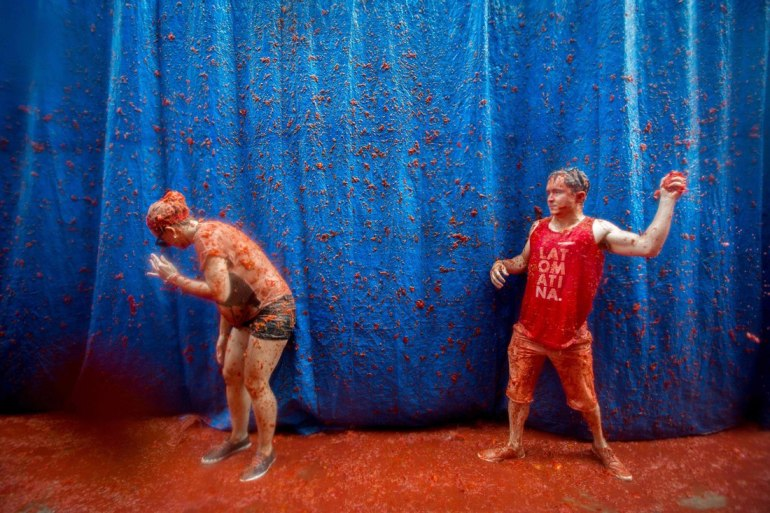 La Tomatina - Tomato Throwing Festival