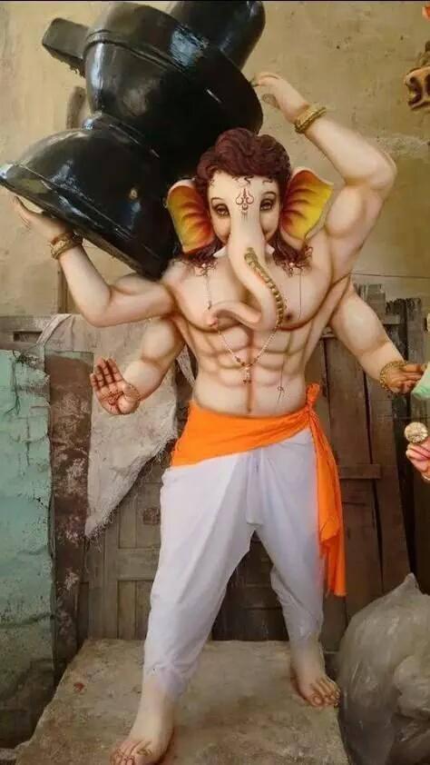 Ganesh Chaturthi | Lord Ganesha Idols  (12 Pictures)