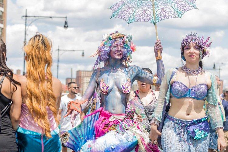 Coney Island Mermaid Parade (50 Pics)