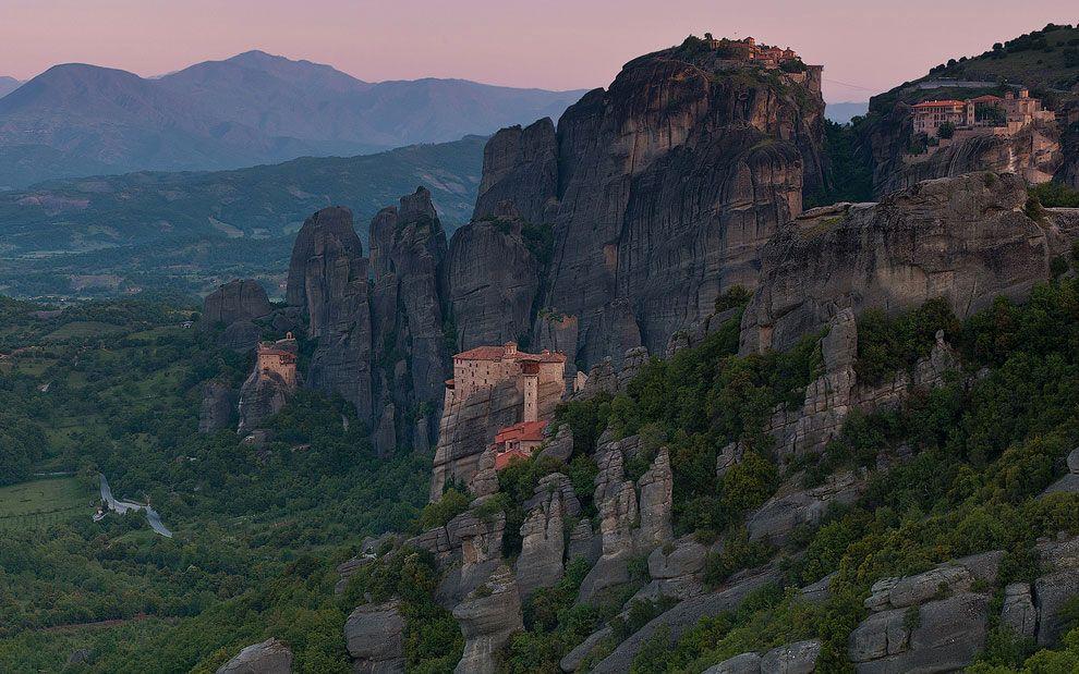 Stunningly beautiful Meteora in Greece