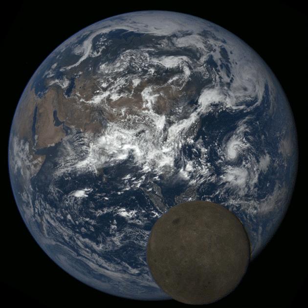 NASA captures unseen side of Moon